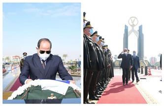 المتحدث الرئاسي ينشر صور مشاركة السيسي في احتفال عيد الشرطة الـ69 | صور