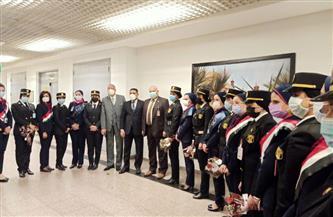شركة ميناء القاهرة الجوي تحتفل بعيد الشرطة | صور