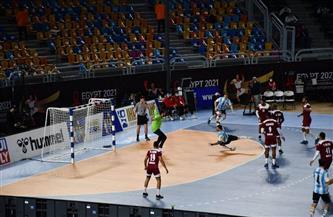 قطر تفوز على الأرجنتين 26 - 25 في المجموعة الثانية للدور الرئيسي لمونديال اليد