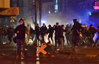 مواجهات محتدمة بين المتظاهرين والقوى الأمنية شمالي لبنان