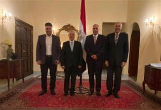 السفير المصري في جيبوتي يستقبل رئيس جامعة طنطا والوفد المرافق له