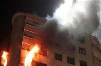 مصدر أمني: إنقاذ طفلة في حريق شقة المرج