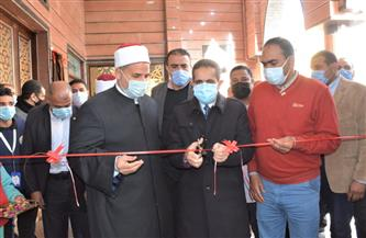 محافظ الغربية يفتتح مسجدا و٣ محطات للصرف الصحي بمركز قطور| صور