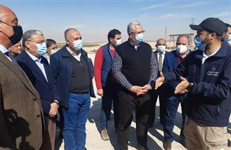 وزيرا الزراعة والري يتفقدان تنفيذ المشروعات التنموية والخدمية في المنيا