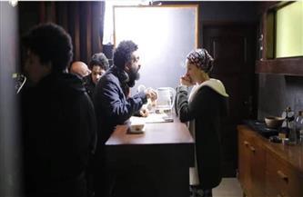 """ماندو العدل ينشر أول لقطة من كواليس مسلسل """"بين السما والأرض""""   صور"""