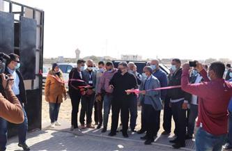 محافظ البحر الأحمر يفتتح محطة معالجة الصرف الصحي الثلاثية المدمجة بمرسى علم| صور