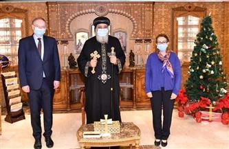 البابا تواضروس يستقبل سفراء الاتحاد الأوروبي وبلجيكا وبنجلاديش والفلبين | صور