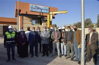 محافظ أسيوط يتفقد أعمال إنشاء محطة رفع صرف صحي العتمانية بالبداري | صور