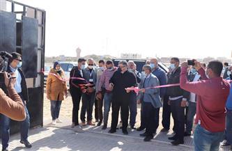 افتتاح محطة معالجة الصرف الصحي الثلاثية المدمجة بمرسى علم |صور