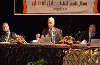 جامعة بورسعيد تمنح 47 باحثا درجات الماجستير والدكتوراه | صور