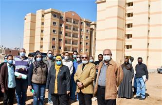 نائبة محافظ أسوان  تتفقد مشروع الإسكان المتميز | صور