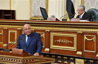 أبرز تصريحات وزير الخارجية سامح شكري أمام البرلمان
