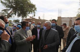 محافظ السويس يتابع أعمال التطوير والتوسعة بشارعي الجلاء والجيش | صور