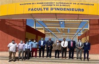 رئيس جامعة طنطا يبحث التعاون مع جامعة جيبوتي في جلسة مباحثات مشتركة | صور