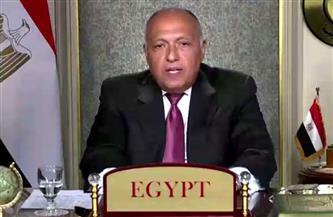 وزير الخارجية ومفوض الاتحاد الأوروبي لسياسة الجوار يتباحثان حول فرص التعاون بين مصر