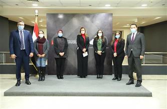 أعضاء مجلسي النواب والشيوخ يزورون «الوطنية للتدريب»