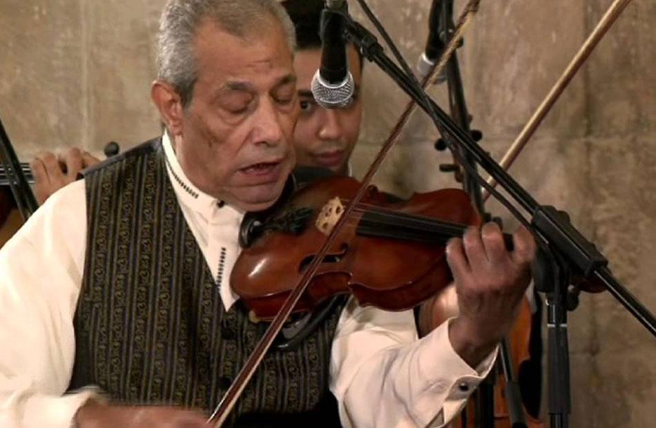 عبقرية وإبداع الموسيقار عبده داغر فى أمسية لبيت الغناء العربي الخميس   صور