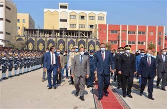 نائب محافظ المنيا يشهد احتفال مديرية الأمن بالعيد التاسع والستين للشرطة المصرية