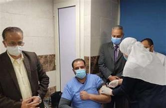 """مستشفى قها للعزل الصحي: بدء تطعيم الطاقم الطبي بلقاح """"كورونا"""""""