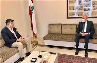 سفير مصر ببيروت يناقش مع رئيس الحكومة اللبنانية الأسبق ضرورة إنهاء الفراغ الحكومي