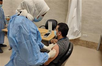 محافظ كفر الشيخ: تطعيم الأطقم الطبية بمستشفي عزل بلطيم بلقاح كورونا   صور