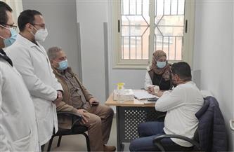 صحة مطروح: بدء حملة التطعيمات ضد فيروس كورونا  الوبائي بمستشفى النجيلة للعزل   صور