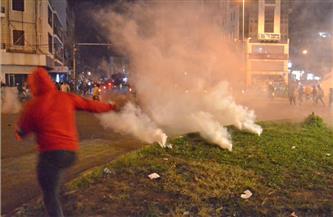 احتدام المواجهات بين المتظاهرين اللبنانيين والشرطة في مدينة طرابلس