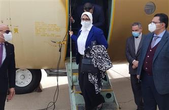 تنفيذا لتوجيهات الرئيس السيسي.. إرسال أدوية وأجهزة طبية على متن ٣ طائرات عسكرية للبنان