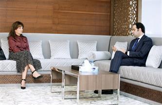 """أمين """"الأخوة الإنسانية"""" يلتقي سفير كندا لدى الإمارات"""