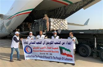 """""""الهلال الأحمر"""" الكويتية تسير طائرة مساعدات طبية للبنان"""