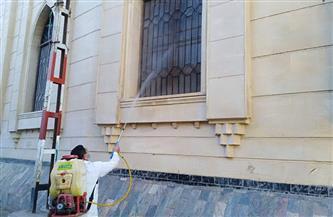 الأوقاف تواصل حملتها لنظافة وتعقيم المساجد في جميع المديريات | صور