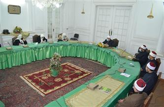 وزير الأوقاف يلتقي أعضاء القافلة الدعوية المتوجهة إلى السودان  صور