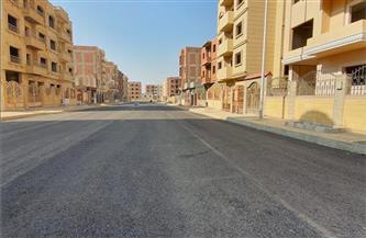 الانتهاء من تنسيق الموقع العام وشبكة طرق ومرافق منطقة الإسكان الاجتماعى بمدينة الشروق | صور
