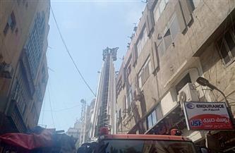 شهود عيان: إشغالات شوارع التوفيقية أعاقت دخول سيارات الإطفاء بشكل سريع للحريق