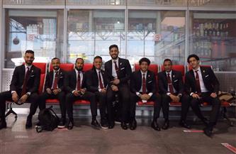 أعضاء بعثة الأهلي يتوافدون على المطار استعدادًا لرحلة مونديال الأندية