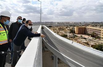 الرئيس السيسي يتفقد عددا من مشروعات تطوير القاهرة الكبرى |صور