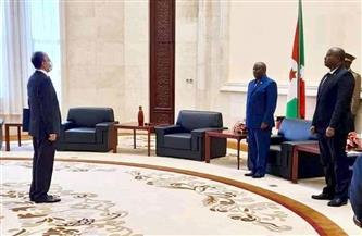 سفير مصر في بوجمبورا يقدم أوراق اعتماده لرئيس جمهورية بوروندي |صور