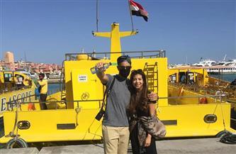 مدونان تشيكيان يستكملان زيارتهما التعريفية لمصر في مدينة الغردقة   صور