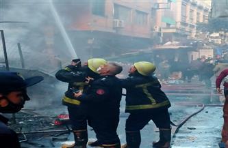 النيابة العامة تكشف سر إقدام المتهم  بإشعال النار في سوق التوفيقية على جريمته