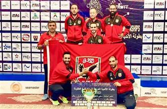 الأهلي يفوز على ألعاب دمنهور في دوري تنس الطاولة