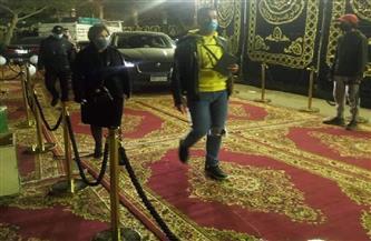 نجوم الفن يتوافدون على عزاء محمد الصغير.. و «لبلبة ومحمد سامي» أبرز الحضور|صور