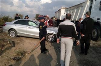 إصابة 5 مواطنين فى حادث بالبحيرة