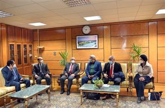 رئيس جامعة أسيوط يستقبل فريق «الجودة» من وزارة التعليم العالي| صور