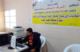 بدء التصويت الإلكتروني في المرحلة الثانية من انتخابات برلمان شباب مصر في 13 محافظة| صور