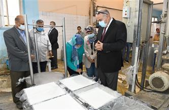 محافظ قنا يتفقد مشروع الأمن الغذائي ومصنع أعلاف الدواجن| صور