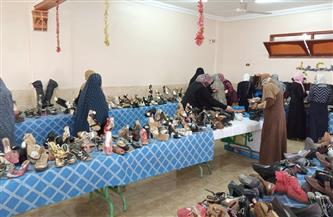 «تضامن الغربية» تنظم معرضا لتوزيع الأحذية على محدودي الدخل ضمن «حياة كريمة» | صور