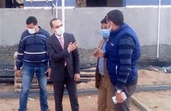 نائب محافظ سوهاج يتفقد مشروعات «حياة كريمة» بقرية الكوامل بحري |صور