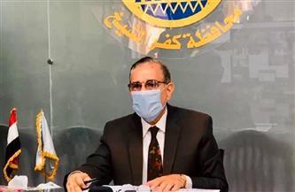 محافظ كفر الشيخ يتابع جهود مواجهة الطقس السيئ