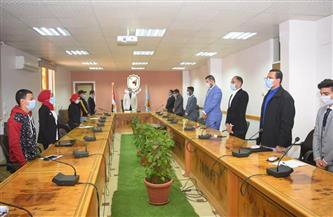 مجلس اتحاد طلاب جامعة سوهاج يعقد أولى اجتماعاته ويناقش الخطة المستقبلية |صور