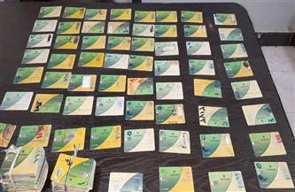 ضبط 180 بطاقة تموينية لمواطنين بحوزة عدد من أصحاب المخابز بالأقصر